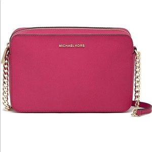 Micheal Kors • Cross Body Bag • Hot Pink